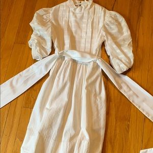 Florence Eiseman cream dress size 10